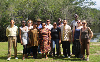 The En-compass team in Guyana
