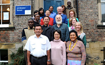 The En-compass project team at Newcastle University